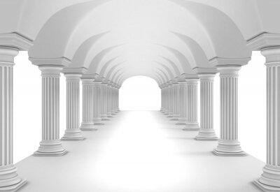 Наклейка Колонка Туннель