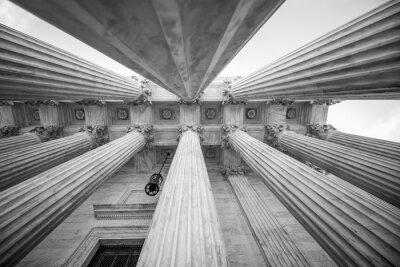 Наклейка Колонны в Верховном суде США