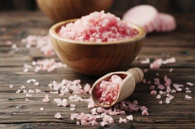 Наклейка Концепция санаторно-курортное лечение с розовой солью