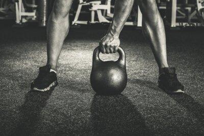 Наклейка тренировка кроссфит