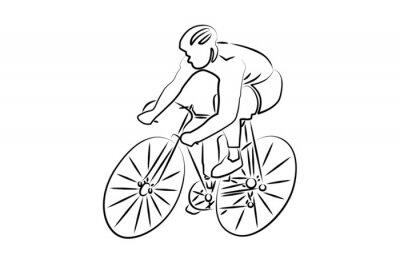 Наклейка Cyclisme