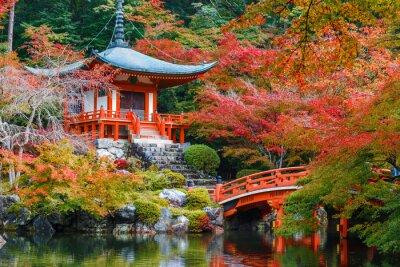 Наклейка Daigoji Храм в Киото