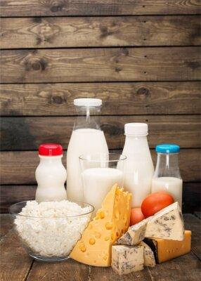 Наклейка Молочный продукт.