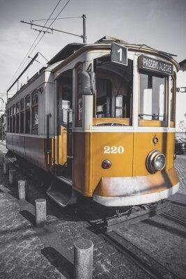 Наклейка Ненасыщенный картина тележки Porto для своего конкретного, кроме желтого.