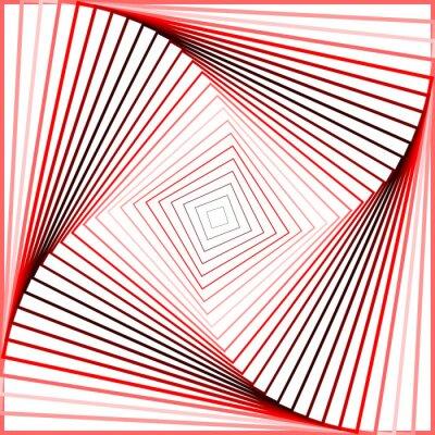 Наклейка Дизайн красочные вертеть движение иллюзия фон