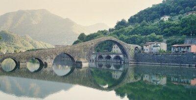 Наклейка Devils Bridge Италия