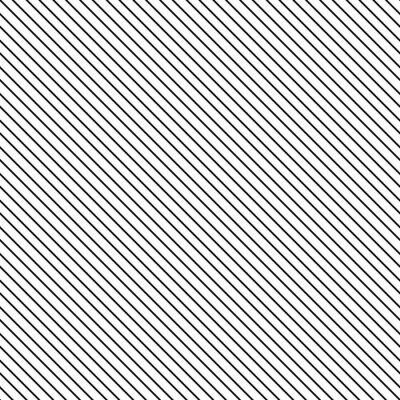 Наклейка Диагональная полоса бесшовные модели. Геометрическая классический черно-белый фон тонкая линия.