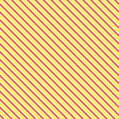 Наклейка Диагональная полоса бесшовные модели. Геометрическая классический желтый и красный фон строки.