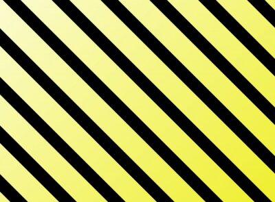 Наклейка Diagonale Streifen жёлтое Schwarz