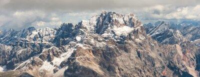 Наклейка гора Доломиты