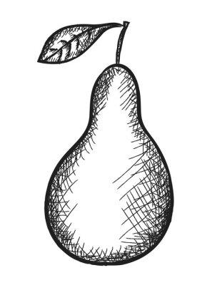Наклейка болван груша
