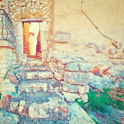 Наклейка Дверь в стене