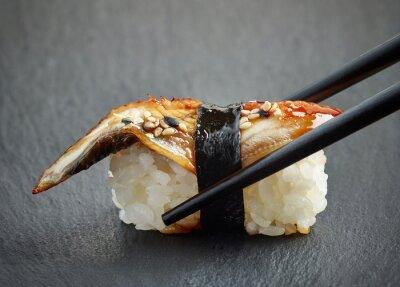 Наклейка Угорь суши