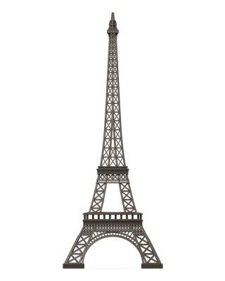 Наклейка Эйфелева башня, изолированных