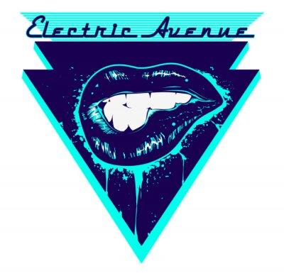 Наклейка Electric Avenue