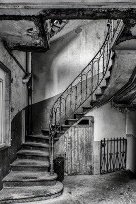 Наклейка Escalier vétuste