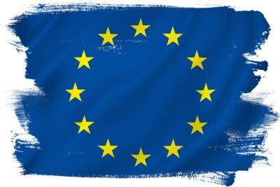 Наклейка Флаг ЕС
