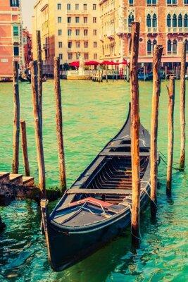 Наклейка Известный Венеция Гондола