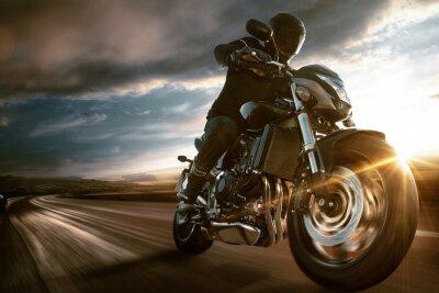 Наклейка Fast Motorbike