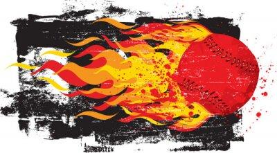 Наклейка Горячие Red Fastball