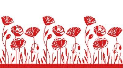 Наклейка растительный орнамент