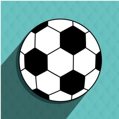 Наклейка дизайн футбол футбол