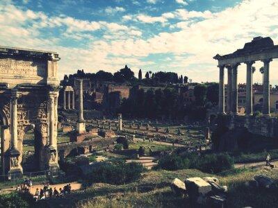 Наклейка Forum Romanum, Рим
