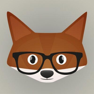 Наклейка Fox аватара