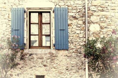Наклейка Французское окно