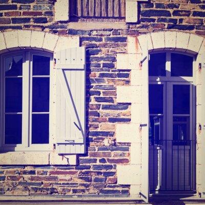 Наклейка French Windows