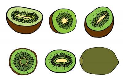 Наклейка fruit kiwi