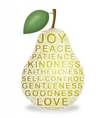 Наклейка Плод же духа: