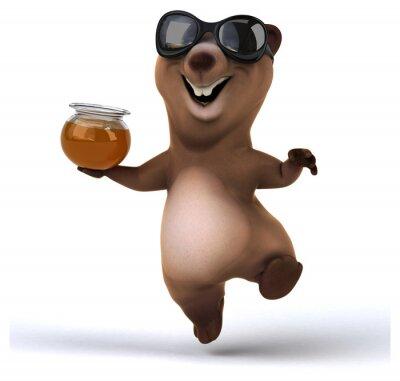 Наклейка Fun медведь