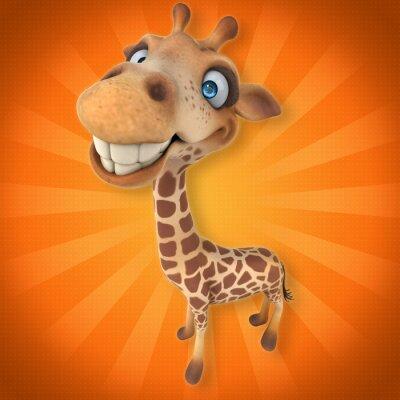 Наклейка Fun жираф