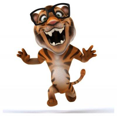 Наклейка Fun тигр