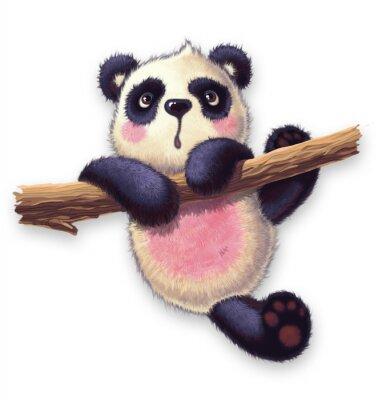Наклейка furry panda