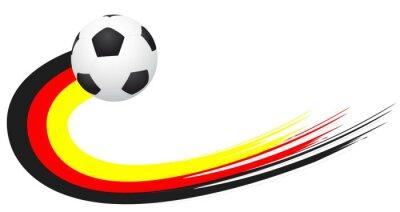 Наклейка Футбол - Германия