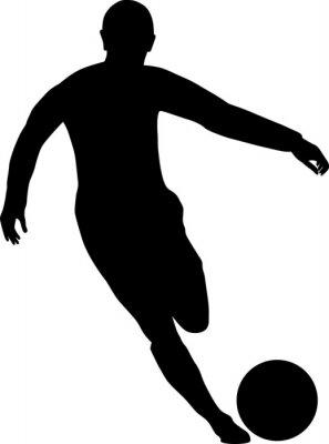 Наклейка футболист
