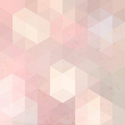 Наклейка Геометрическая Ретро фон гранж текстур