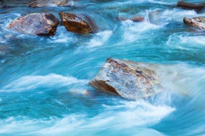 Наклейка Река Ледник