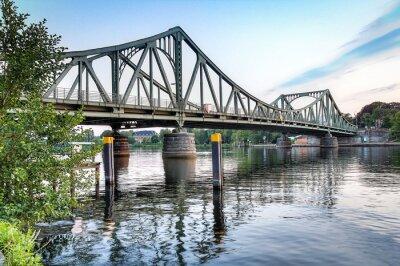 Наклейка Glienicker Brücke Потсдам / Берлин