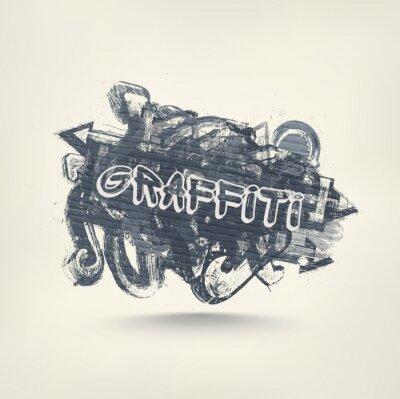 Наклейка Граффити