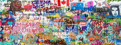Наклейка Graffiti Panorama