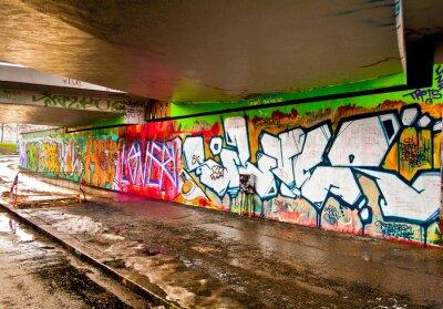 Наклейка Граффити стена