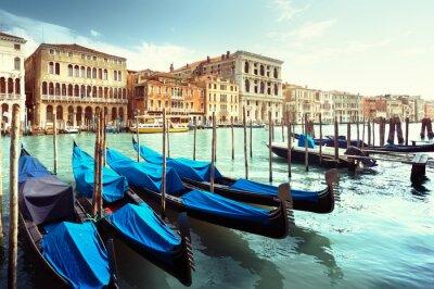 Наклейка Большой канал, Венеция, Италия