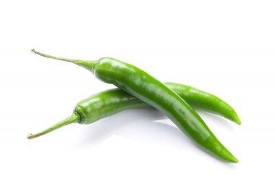 Наклейка Зеленый перец чили