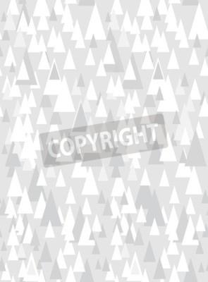 Наклейка Серый бесшовные модели с декоративными треугольниками и копией пространства
