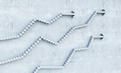 Наклейка Концепция роста и прогресса