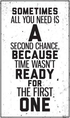 Наклейка Шероховатый мотивационный постер. Украшения в салоне