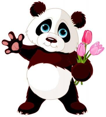Наклейка Счастливые Panda